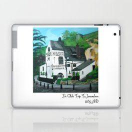 The Oldest Inn In England Acrylic Fine Art Laptop & iPad Skin