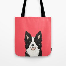 Montana - Border Collie gifts for dog people and dog lovers perfect gifts for a dog person.  Tote Bag