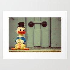 Uncle Scrooge Art Print