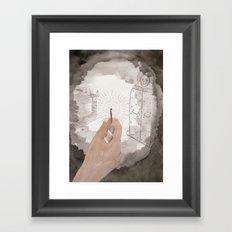 The Bloody Chamber Framed Art Print