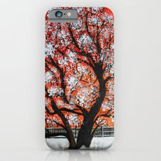 Snowy old tree Slim Case iPhone 6s