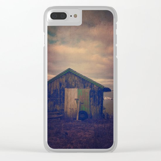 Twilight by the Sea Clear iPhone Case
