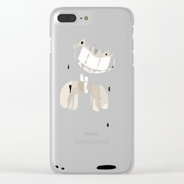 Ink Bendy Clear iPhone Case