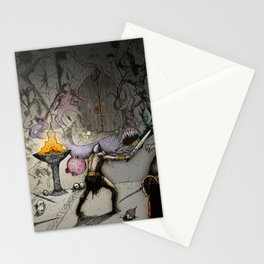 At the Wall Stationery Cards