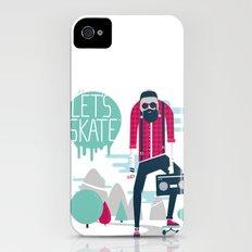 Let's skate  iPhone (4, 4s) Slim Case