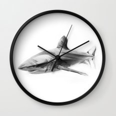 Shark I Wall Clock