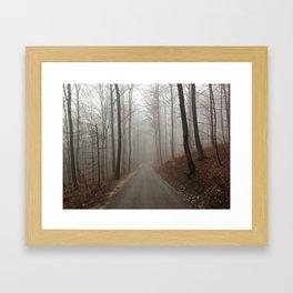 Nebel Framed Art Print
