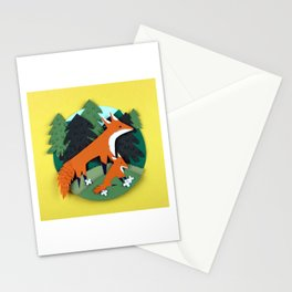Mother Fox Stationery Cards