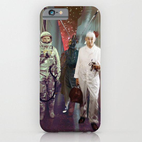 Space Check Collage iPhone & iPod Case