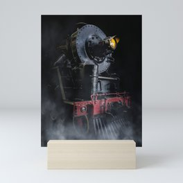 Steam Loco Mini Art Print