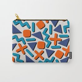90s Retro Memphis Pattern Carry-All Pouch
