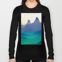 Green Valley Landscape Long Sleeve T-shirt