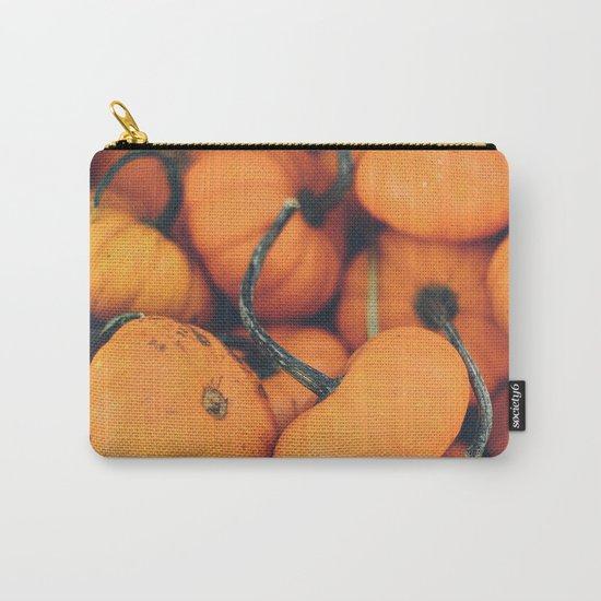 Obligatory Pumpkin Selfie  Carry-All Pouch
