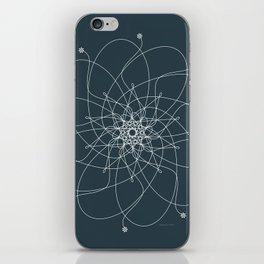 Ornament – Nightblu Blossom iPhone Skin