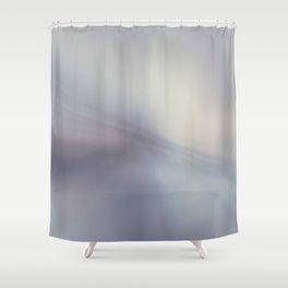 Blurred glass Shower Curtain