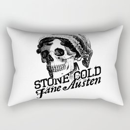 Stone Cold Jane Austin Rectangular Pillow