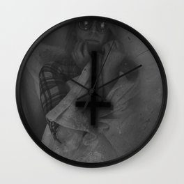 Little Twisted, Suicidal Type Wall Clock
