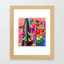 Cig Drip Framed Art Print