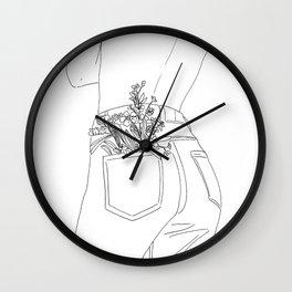 selflove Wall Clock