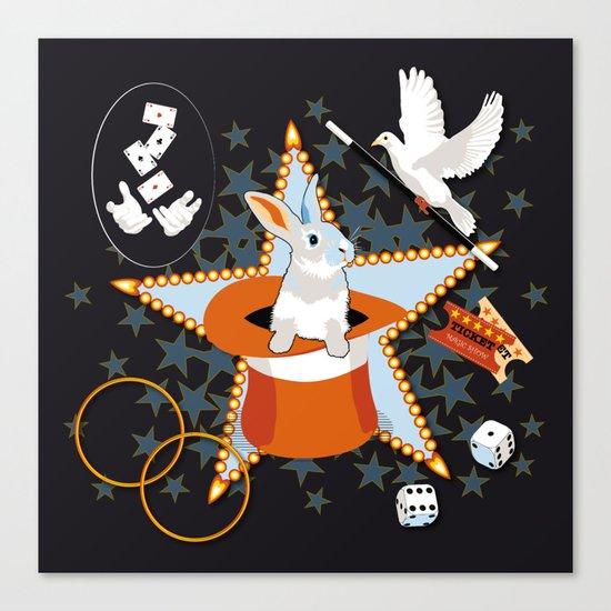 Magic Show Canvas Print