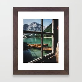Road Trip 26 - Dolomites Framed Art Print
