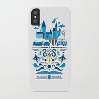 returns iPhone & iPod Cases featuring Magick Returns by Aphichat Treetaruyanon
