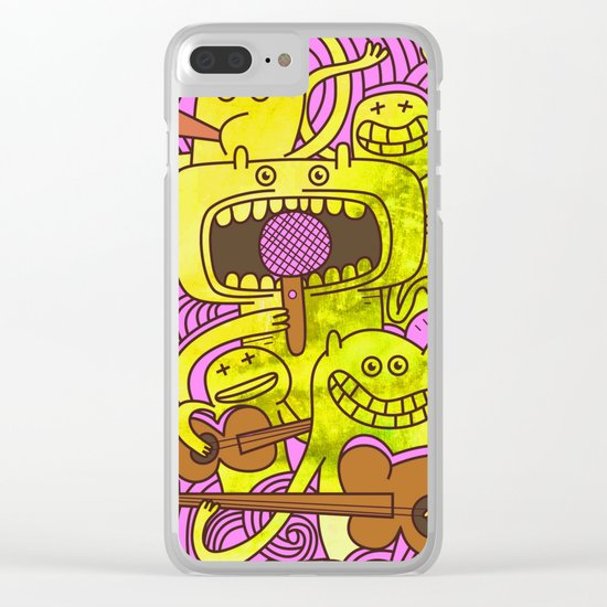 Musicians Clear iPhone Case