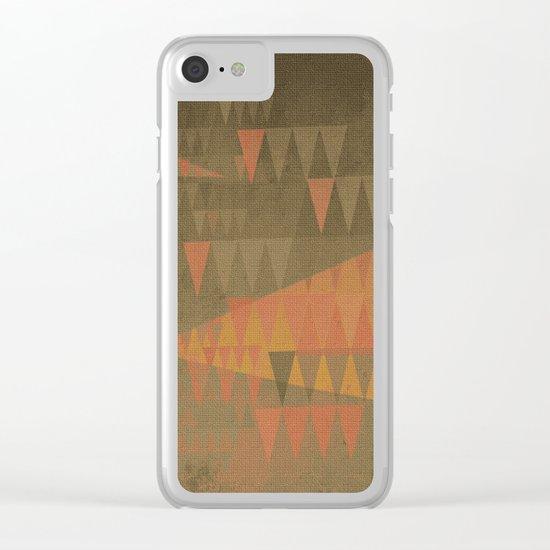 Foresta Fantasia Clear iPhone Case