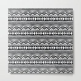 mudcloth no. 2 Metal Print