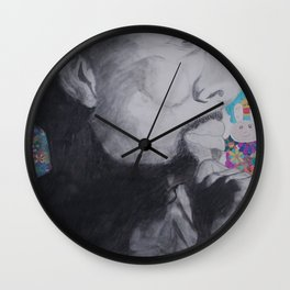 Common Murakami Wall Clock