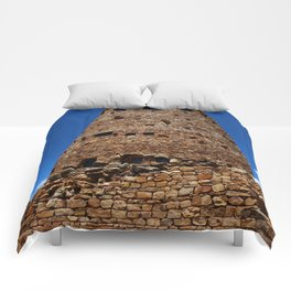 Desert View Watchtower - South Rim Grand Canyon Comforters