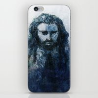 thorin iPhone & iPod Skins featuring Thorin II by Casey Shaffer
