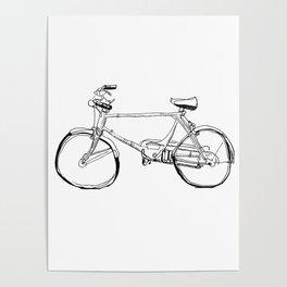 Cruiser Bicycle Poster