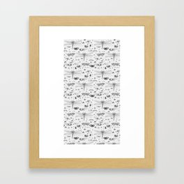 Braf insects Framed Art Print