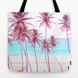 Palm Beach Illustration Tote Bag
