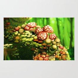 Mushroom dragon Rug