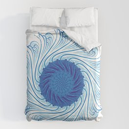 For when you need to gather strength Duvet Cover