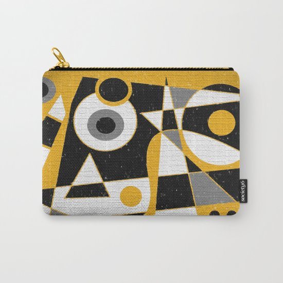 Abstract #385 Wall Art Carry-All Pouch