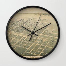 Cuero Texas 1881 Wall Clock