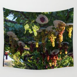 Grapevine Day Fade (Cyprus) Wall Tapestry