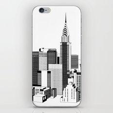 New York Black and White 2 iPhone & iPod Skin