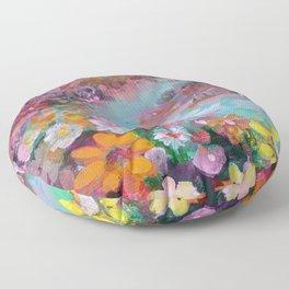 lovely landscape Floor Pillow