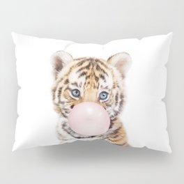 Bubble Gum Tiger Cub Pillow Sham