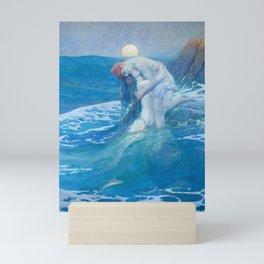 Howard Pyle - The Mermaid Mini Art Print