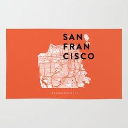 San Francisco Map 04 Rug