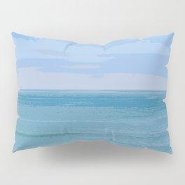 Blue Blue Blue Pillow Sham