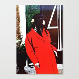 Plastic Chic Canvas Print