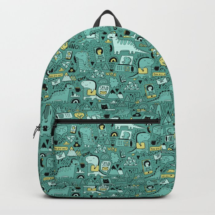 Communication Dinosaurs Backpack