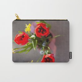 Spring Bunch Carry-All Pouch