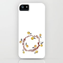Honey Ant Roundabout iPhone Case